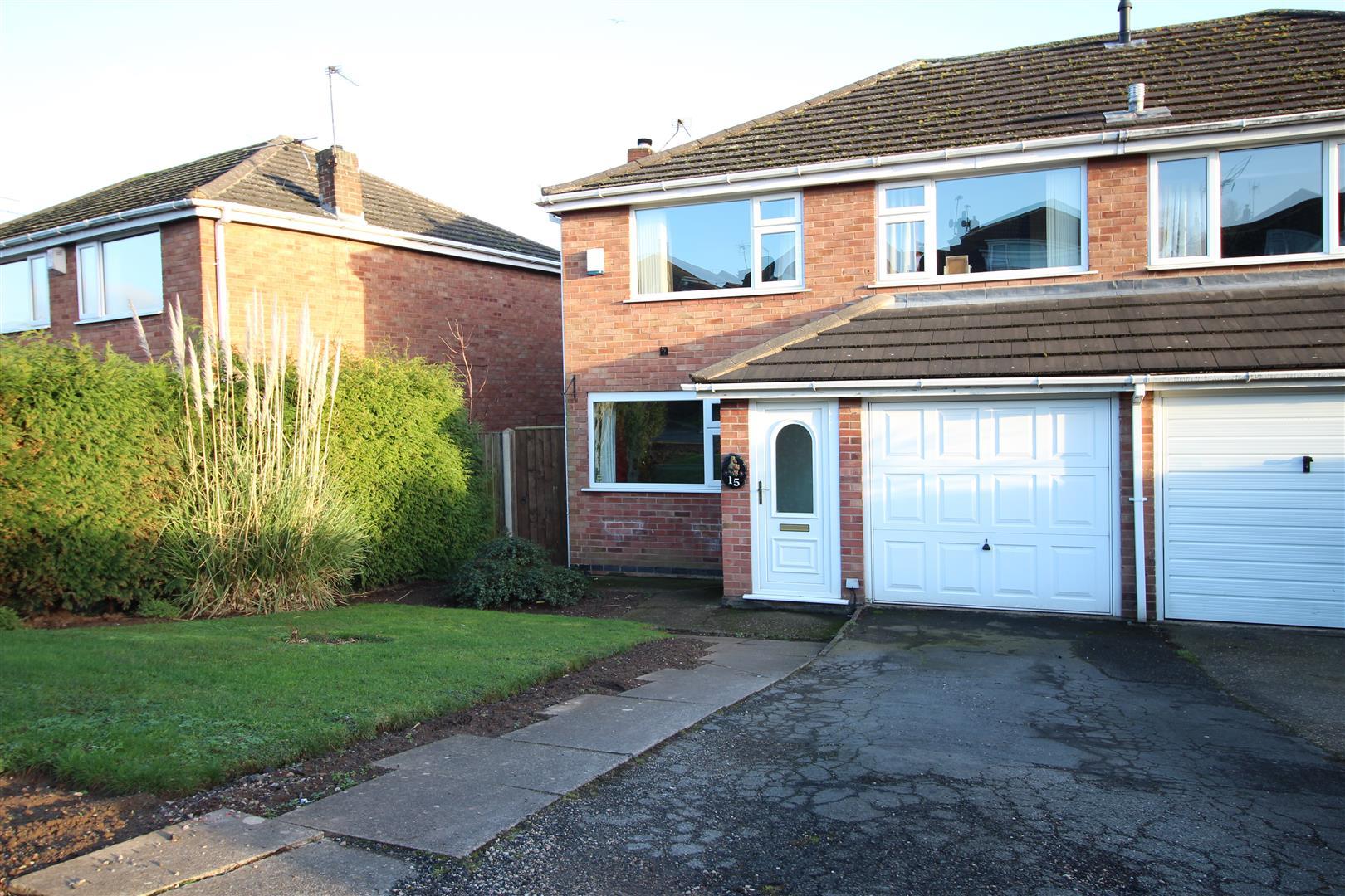 3 Bedrooms Semi Detached House for sale in Mountfield Avenue, Sandiacre, Nottingham